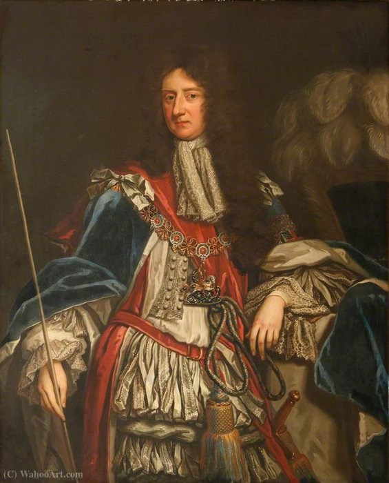 Laurence hyde by Willem Wissing (1656-1687, Netherlands) | Famous Paintings Reproductions | WahooArt.com