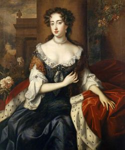 Willem Wissing - Mary, Princess of Orange, Later Mary II