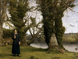 William Dyce - George Herbert at Bemerton, Salisbury