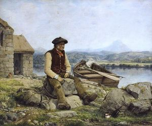 William Dyce - The highland ferryman