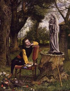 William Dyce - Titian Preparing to Make His First Essay in Colouring