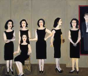Alex Katz - Black dress