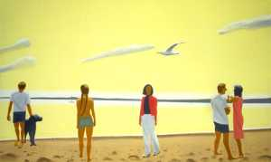Alex Katz - Penobscot morning