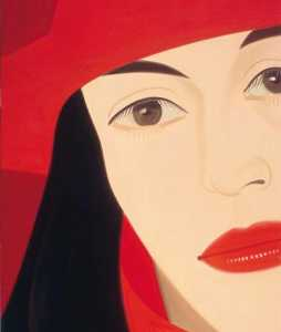 Alex Katz - Red coat