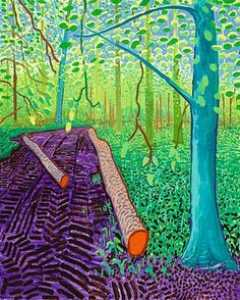 David Hockney - Spring lLandscape