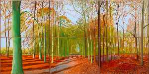 David Hockney - The valrave