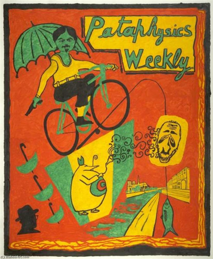 Pataphysics weekly from the magazine series by Derek Boshier