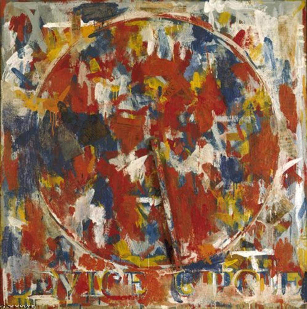Device circle by Jasper Johns | Painting Copy | WahooArt.com