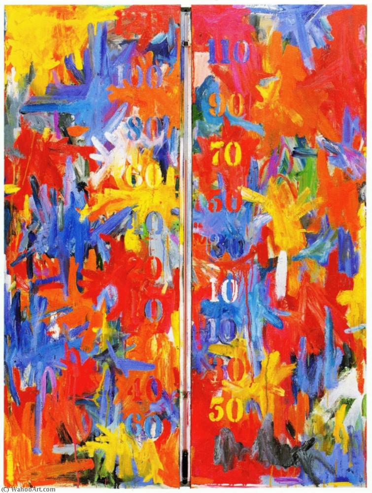 False start by Jasper Johns