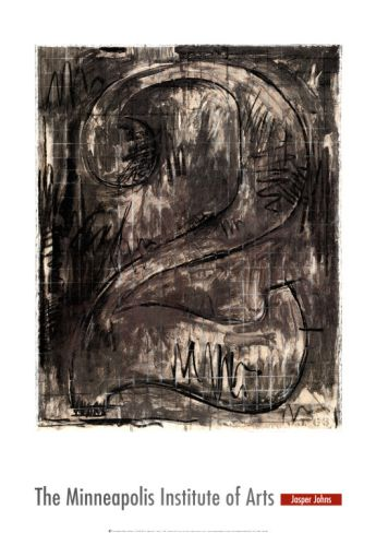Figure by Jasper Johns