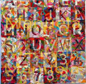 Jasper Johns - Order and Disorder