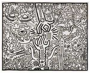 Keith Haring - The marriage of heaven and hell