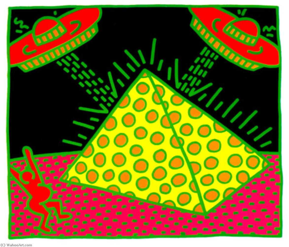 Untitled (9) by Keith Haring (1958-1990, United States) | Museum Quality Reproductions | WahooArt.com