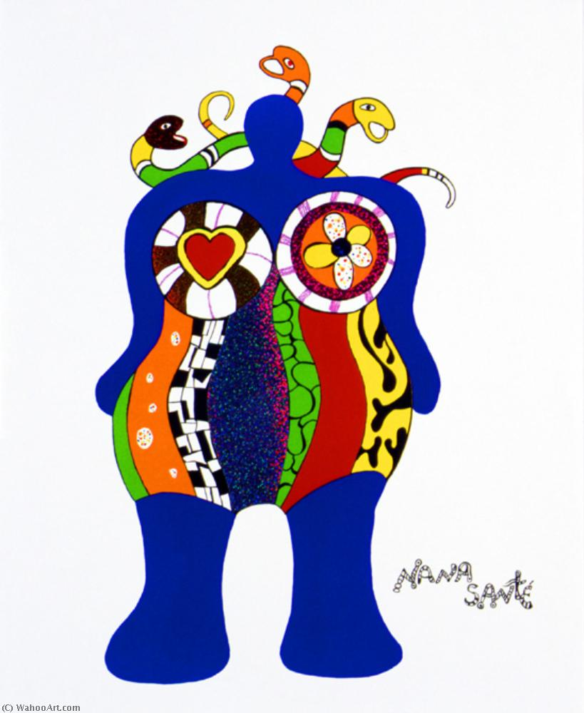 Nana santé by Niki De Saint Phalle (1930-2002, France)