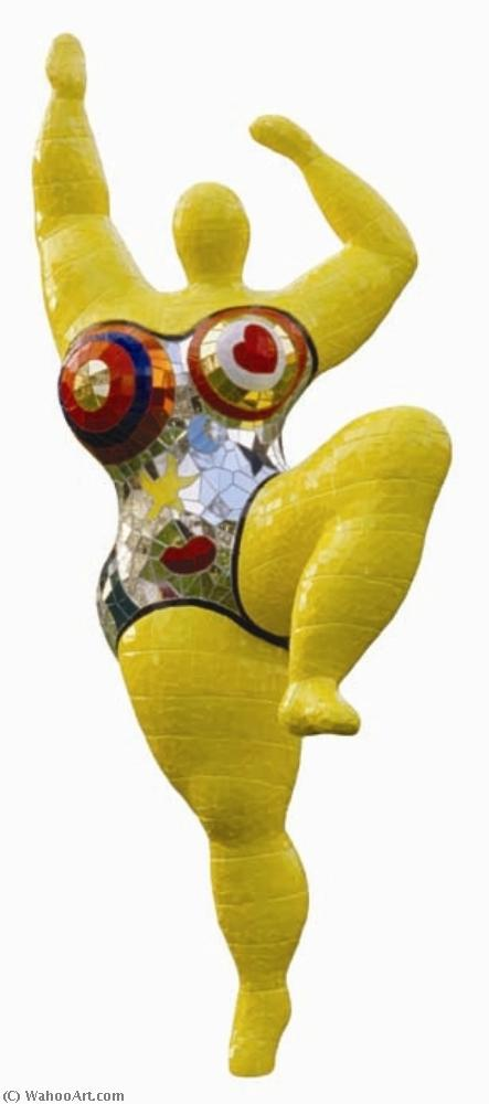 The three graces by Niki De Saint Phalle (1930-2002, France)