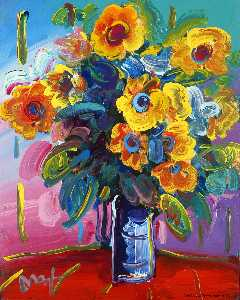 Peter Max - Flower