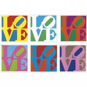 Robert Indiana - The garden of love