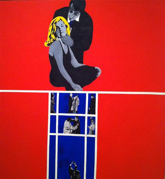 Love and violence by Rosalyn Drexler | Museum Quality Reproductions | WahooArt.com
