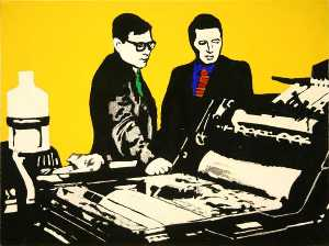Rosalyn Drexler - Study for men and machines