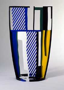 Roy Lichtenstein - Glass (1977)