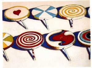 Wayne Thiebaud - Big suckers