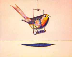 Wayne Thiebaud - Bird