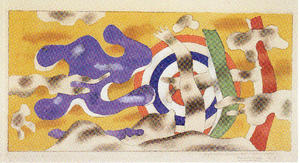 Fernand Leger - Decorative project for a center of aviation People