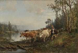 Anders Monsen Askevold - Moving the Cattle