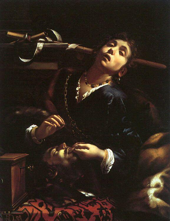 Herodías, 1630 by Francesco Del Cairo (1607-1665)