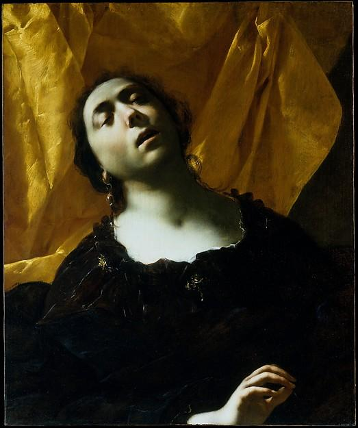 Herodias, Oil On Canvas by Francesco Del Cairo (1607-1665)