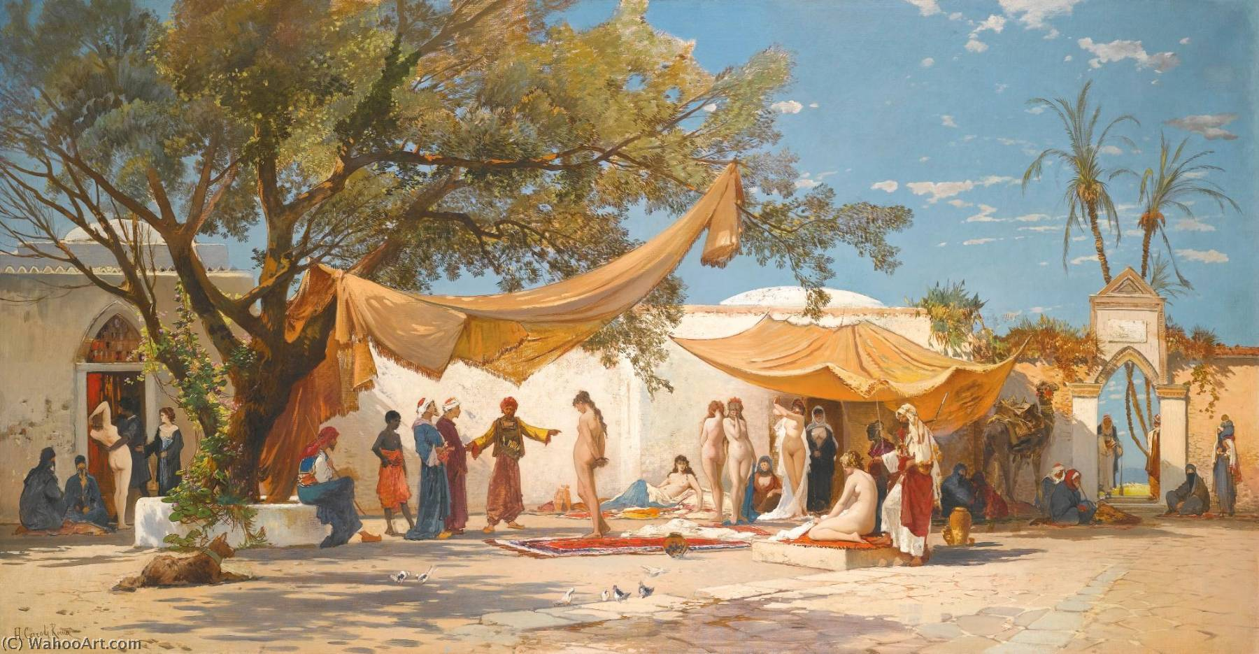 slave market Explore hosny soliman's board slave market & harem on pinterest | see more ideas about artists, classical art and harems.