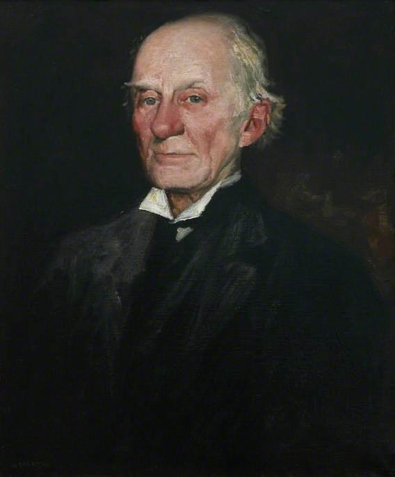 Dr Warre Cornish, Vice Provost of Eton College by William Strang (1859-1921) | Oil Painting | WahooArt.com