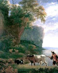 Jan Asselijn - Landscape with a Drover