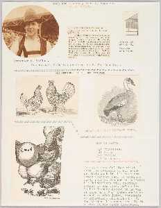 Joseph Cornell - Goop Joe's Weekly Poultry Page. 4. Extra Number