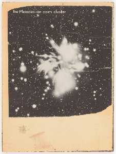 Joseph Cornell - Untitled (the Pleides an open cluster)