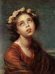 Elisabeth-Louise Vigée-Lebrun - The Daughter's Portrait
