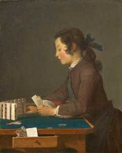 Jean-Baptiste Simeon Chardin - House of Cards