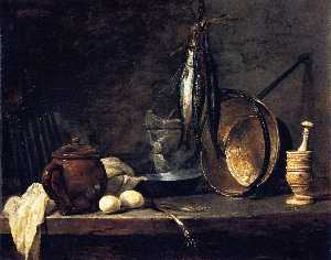 Jean-Baptiste Simeon Chardin - The Fast Day Meal