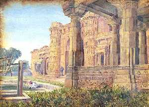 Marianne North - Mosques of the Queen, Ahmedebad