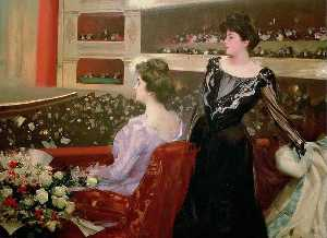Ramon Casas Carbó - The Lyceum