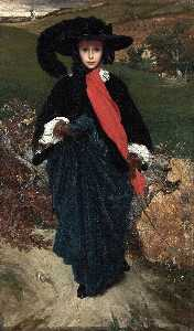 Lord Frederic Leighton - Portrait of May Sartoris