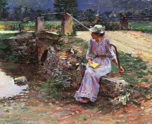 Order Oil Painting : La débácle, 1892 by Theodore Robinson (1852-1896, United States) | WahooArt.com