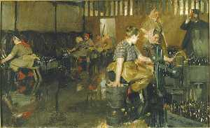 Anders Leonard Zorn - The Little Brewery