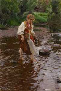 Anders Leonard Zorn - The Girl from Älvdalen