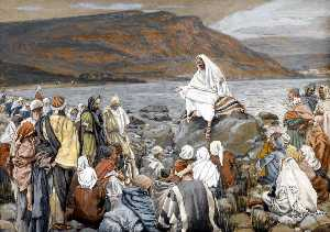 James Jacques Joseph Tissot - Jesus Teaches the People by the Sea