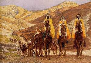 James Jacques Joseph Tissot - Journey of the Magi