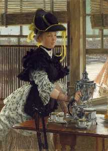 James Jacques Joseph Tissot - Tea