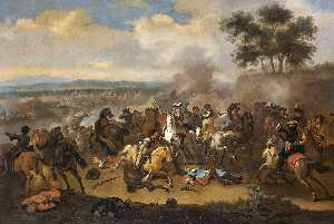 Jan Van Huchtenburg - Battle of the Boyne