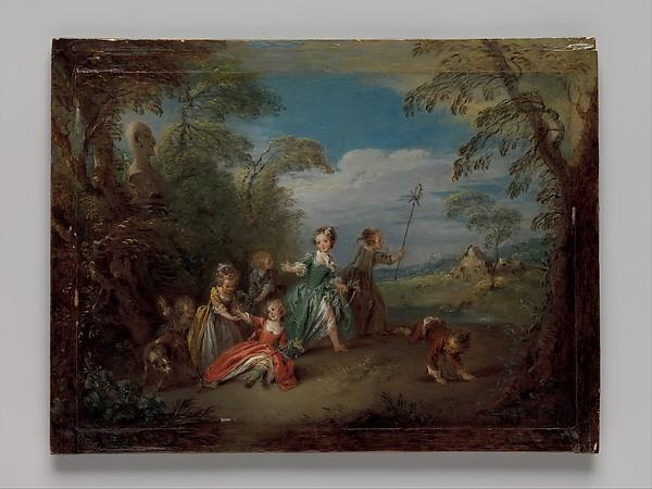 The Golden Age by Jean-Baptiste Pater (1695-1736, France) | Museum Quality Reproductions | WahooArt.com