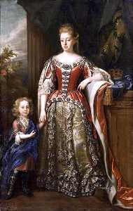 John Closterman - Lady Elizabeth Percy, Duchess of Somerset, and Her Son
